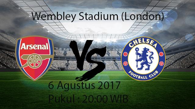 Prediksi Pertandingan Arsenal Vs Chelsea 6 Agustus 2017