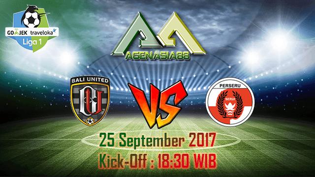 Prediksi Bali United Vs Perseru Serui 25 September 2017