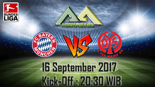 Prediksi Bayern Munchen Vs Mainz 05 16 September 2017