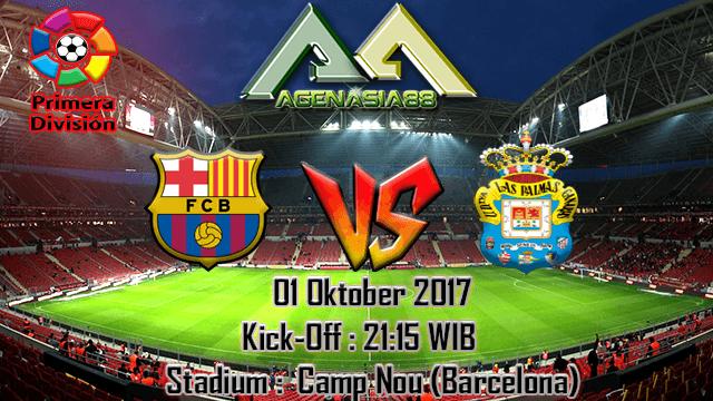 Prediksi Barcelona Vs Las Palmas 01 Oktober 2017