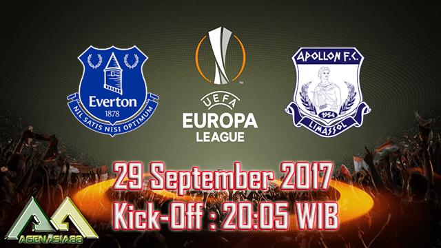 Prediksi Everton Vs Apollon 29 September 2017