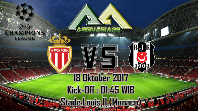 Prediksi Monaco Vs Besiktas 18 Oktober 2017