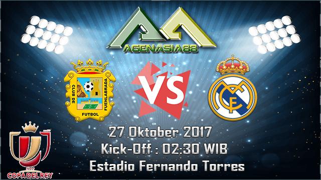 Prediksi Fuenlabrada Vs Real Madrid 27 Oktober 2017