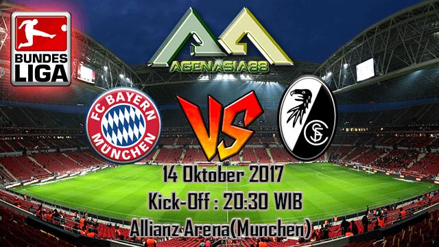 Prediksi Bayern Munchen Vs Freiburg 14 Oktober 2017
