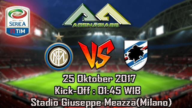 Prediksi Intermilan Vs Sampdoria 25 Oktober 2017